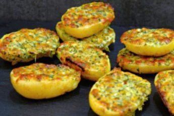 Картофель, запеченный в духовке, под ароматной хрустящей корочкой!
