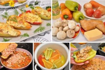 Курица в перце — фирменное блюдо бабули