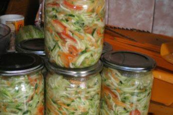 Салат из кабачков «Добряк» — самый вкусный салат!
