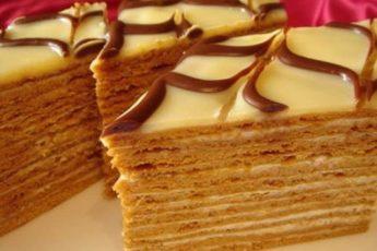 Легкий и неимоверно вкусный тортик!